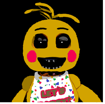 Toy Chica Recolour by ZalgoVinylScratch