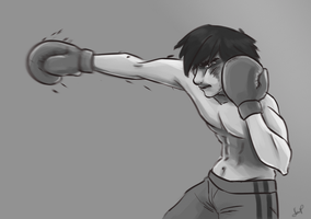 Boxer!Hiccup by xCandySlice
