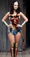Lynda Carter with new Wonder Woman costume by Don-Jack