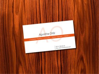 Agustina Ortiz Bussines Card by freakeao