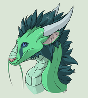 Eastern dragon! by LINXthepowerful