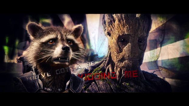 Rocket and Groot (2) by BiigM