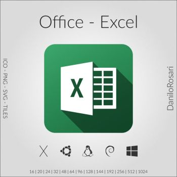 Office (Excel) - Icon Pack by DaniloRosari