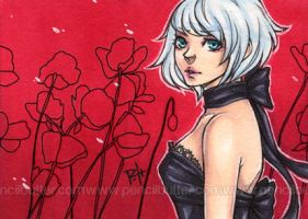 aceo - poppies by pencil-butter