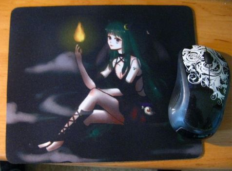 Mouse pad by Solceress