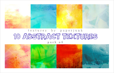 Textures Pack 06: Abstract by PaperJunk
