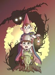 Over the Garden Wall by mogstomp
