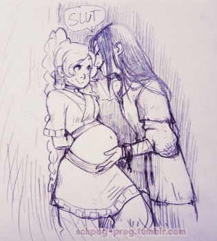 Ty Lee and Azula by Schpog-Preg