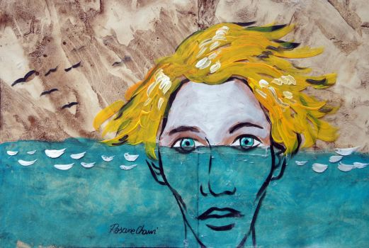 Water in your eyes by Rosane-Chawi