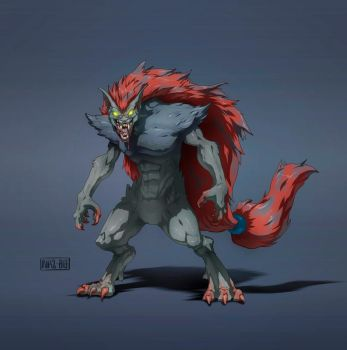 the bloodiest Zoroark (Commission) by Namh