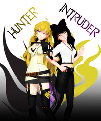 Blake [Intruder] and Yang [Hunter] DL Pack! by RosewickTrash