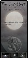 Full Moon Stock Zip Pack 1 by FantasyStock