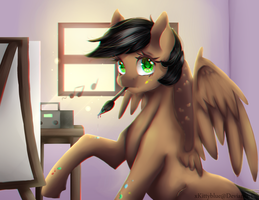 MLP Art Trade | ArtSong   + Speedpaint by xKittyblue