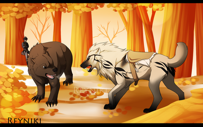RoH: Autumn Battle by Reyniki