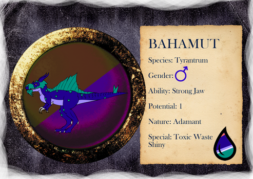 PARPG - Bahamut Reference - Level 43 by NataliaDriscol