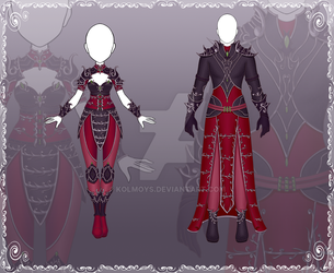 [Close] Adoptable Outfit Auction 124-125 by Kolmoys