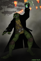 TMNT SAINW Leo - party by theblindalley