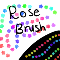 Rose Brush (FA) by 18Gingasoldier