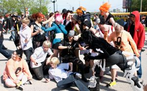 TWEWY group picture by michiiyuki