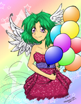 2011 Mitsuki with Balloons by MillyT