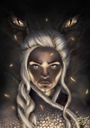 Mother of Dragons by MF1989