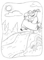 Hog Jog_unused art by tombancroft