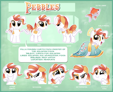 Pebbles Reference Sheet by Centchi