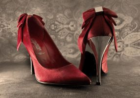 my lovely red high heels 2 by dndnma