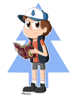 Dipper Pines by FairyArtists