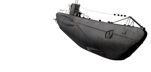 U-Boat Png - Object Resourses by rOEN911