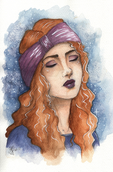 Andrea by Songes-et-crayons