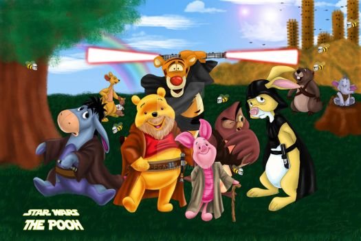 Star Wars The Pooh by Lord-FSan