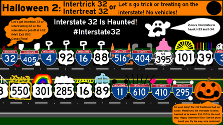Hallointerstate: Interstate 32: Intertricktreat 32 by Interstate48