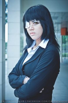 [Jormungand] Valmet cosplay by Natsuki by CAcorporation