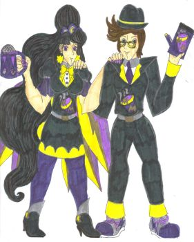 Mackenzie and Samuel in Moonlight Mocha Attire by Winter-Colorful