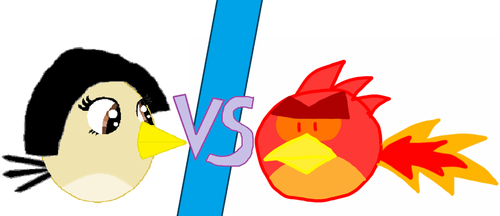 Shake Bird VS Fire Bird by Mario1998