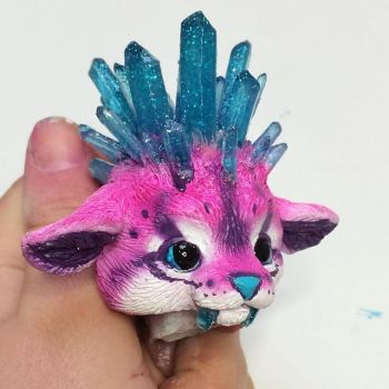 Crystal Kitty WIP by Magweno