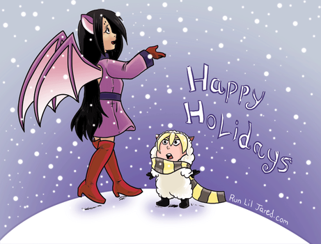 More happy holidays! by mikurose