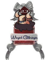 December 23 - Winged Giftbringer JR (teaser Chibi) by Thalliumfire