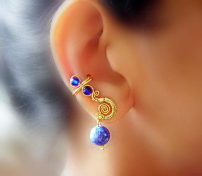 royal ear-cuffs pair by pikabee