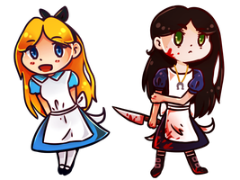 Double Alice by SnowLilys