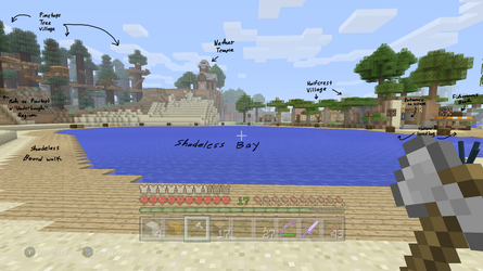 MINECRAFT DISK. Shadeless Bay by CoffeeAddictedDragon