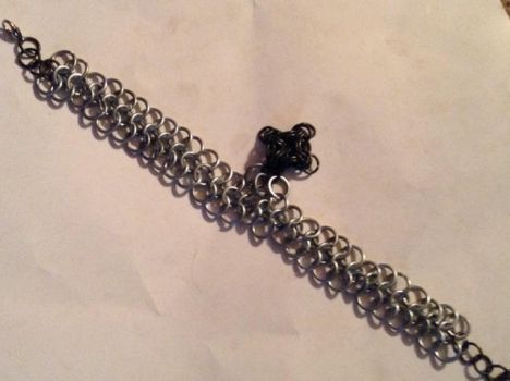 4-1 Chain And Cross Charm by ChaineAlchemist