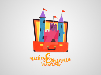 Logo Design - Mickey and Minnie Vacations by ScribbleBoxDesigns
