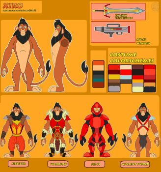 Xiro Ref Sheet by Justathereptile