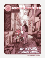 Mr.Invisible and the missing Axolotl by Fataldose