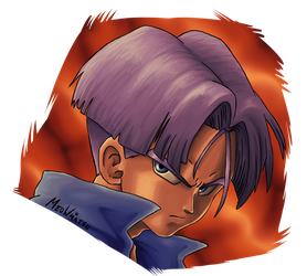 Future Trunks by MeoWmatsu