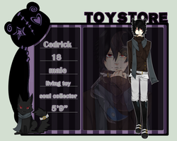 Toy store app: Cedrick by BlackKitty68