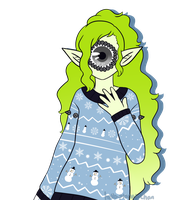 [sweater] - Danielle-chan by hello-planet-chan