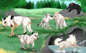 Gaggle of Galloping Tokotas [Exploring Comm] by Scutterland